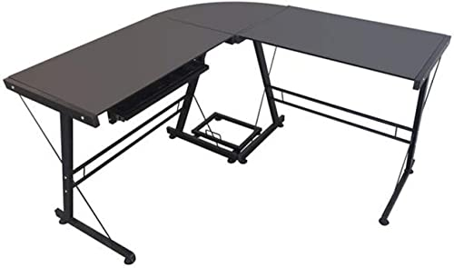 L-Shaped Durable Stalinite Splicing Computer Desk 402C Computer Corner Desk