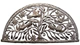 Cheap Tree of Life, Haiti Steel Drum Wall Art 34.25″ X 16.25″