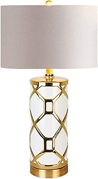 ACHNC Table Lamp LED Modern Bedside Lamp Luxury Desk