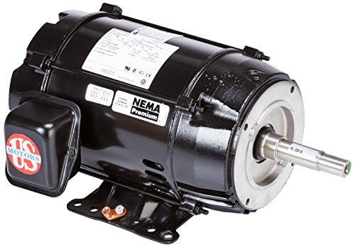 Pentair 350158S 5 HP Motor Replacement EQ-Series EQWK500 Commercial Plastic Pool and Spa Pump