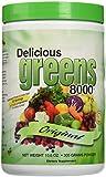 Greens World - Delicious Greens 8000 Original Flavor - 10.6 oz.