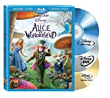 Alice in Wonderland (Three-Disc Blu-ray/DVD Combo + Digital Copy) by Walt Disney Studios Home Entertainment