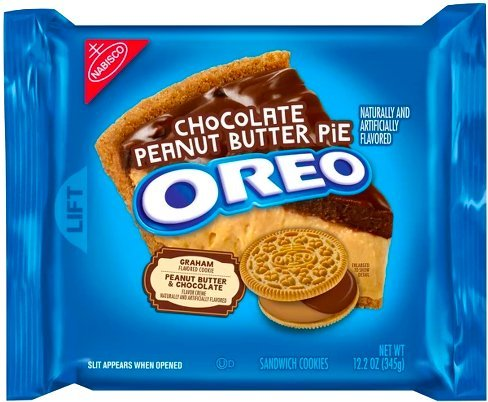 Chocolate Peanut Butter Swirl (NEW Oreo Chocolate Peanut Butter Pie Sandwich Cookies - 12.2oz (1))