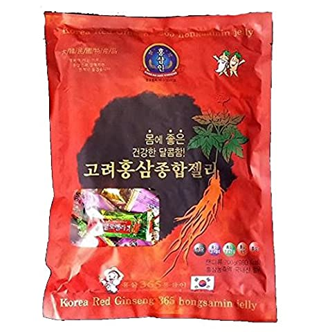 [Korea Ginseng Distribution Corporation] Korean Red Ginseng General Jelly 700g / Red Ginseng Concentrate / Red Ginseng Dessert / Health Food / Gift / Snacks / Hard Jelly / Parents / Grand Parents (Duplicate Plate)