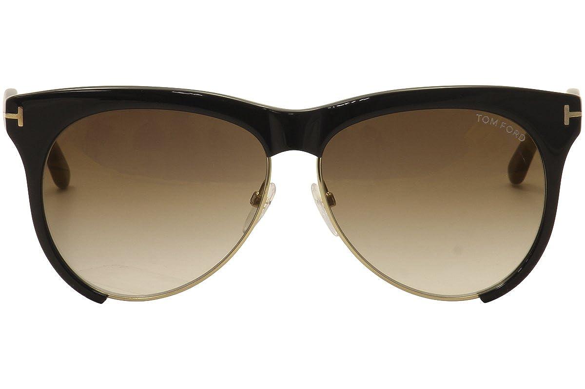 87dcb77c81 Amazon.com  Tom Ford Women s Leona TF365 Sunglasses