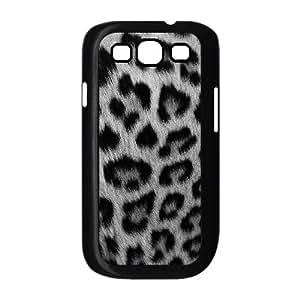 Samsung Galaxy S3 9300 Cell Phone Case Black Snow leopard seqt