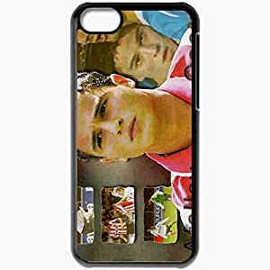 Personalized iPhone 5C Cell phone Case/Cover Skin Afellay And Cocu 3 Football Black