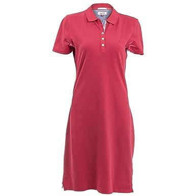 Vestido Tommy Hilfiger Polo XS Rojo: Amazon.es: Ropa y accesorios