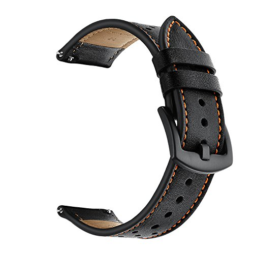 Jewh Genuine Leather Watch Band Samsung Gear S3 - Frontier/Classic Strap Xiaomi Huami Amazfit