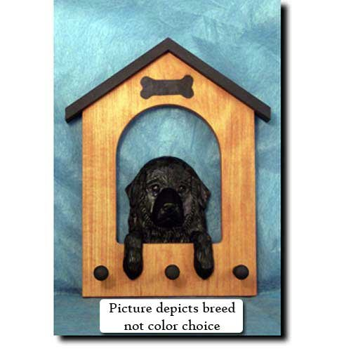 - Michael Park Newfoundland (Landseer) Doghouse Leash Holder