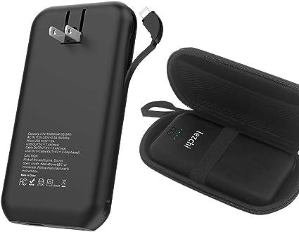 Amazon.com: Batería externa de 15000 mAh, cargador portátil ...