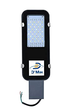 Plutomax 30W Waterproof LED Street Light Road Outdoor Industrial Cool White Street Lights at amazon