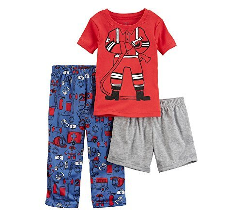 Carter's Baby Boys' Fire Fighter 3-Piece Pajama Set 18 Months ()