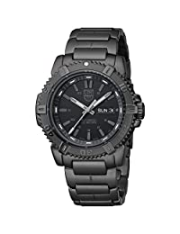 Luminox Men's Modern Mariner 6502.BO Black Stainless-Steel Swiss Automatic Watch