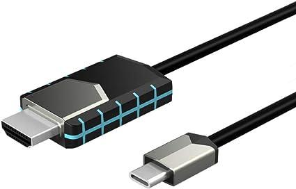 Acealto convertidor de pantalla inalámbrica tipo C a HDMI 4K ...