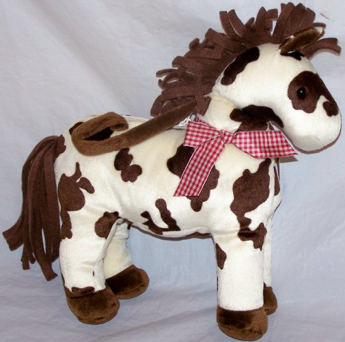 Handbag Heaven Stuffed Pinto Pony Purse