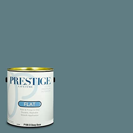 Prestige P100 D Sw6228 Interior Paint And Primer In One 1 Gallon Flat Comparable Match Of Sherwin Williams Refuge 1 Gallon Sw12 Refuge