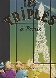 Les Triplés, Tome 12 : Les Triplés à Paris : Edition bilingue français-anglais