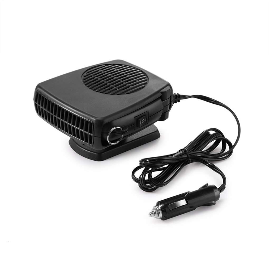24V 150W Calentador de Ventilador de refrigeraci/ón del Coche del Parabrisas Negro Caliente fr/ía asidero Antivaho descongelador Coddington 2 en 1 12V
