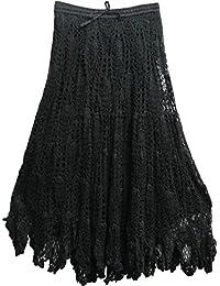 Amazon.com: India Shakti - Skirts / Clothing: Clothing, Shoes ...