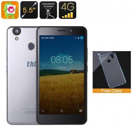 THL T9 Smartphone - pantalla de 5,5 pulgadas HD, 4G, Android 6.0, escáner de huellas digitales, cámara de 8 megapíxeles, 2GB de: Amazon.es: Electrónica