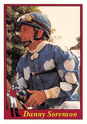 Danny Sorenson trading card (Horse Racing) 1995 Jockey Star #189