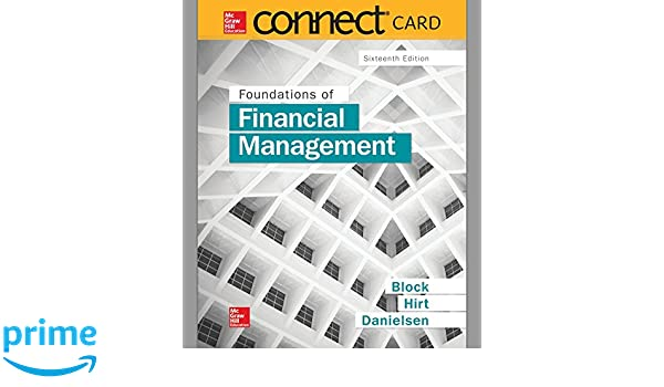 Connect 1 semester access card for foundations of financial connect 1 semester access card for foundations of financial management 9781259356162 economics books amazon fandeluxe Gallery