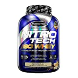 MuscleTech NitroTech Iso Whey Isolate Protein Powder, 25g of Whey Protein Per Scoop - The Purest Whey Protein Formula Available - Vanilla, 53 Servings (5lbs)