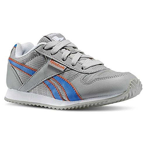 Reebok - Royal CL Jogger - V63290 - Color: Azul-Gris-Naranja - Size: 27.0