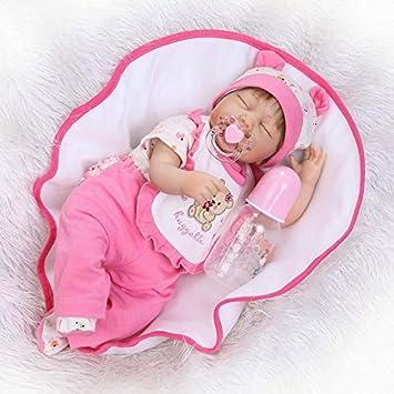 Amazon.es: Nicery RD45C085UC - Muñeca de bebé de Silicona, Suave ...