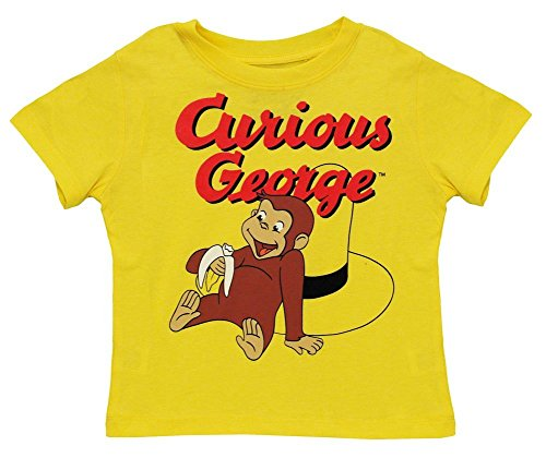 Vintage Curious George Playful Toddler T-Shirt - 5T