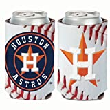 Houston Astros Ball Design Can Cooler
