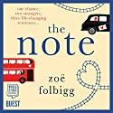 The Note Audiobook by Zoë Folbigg Narrated by Juliette Burton