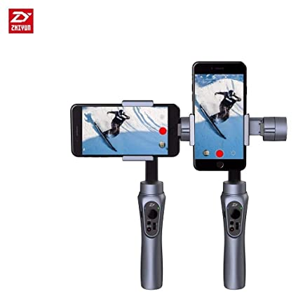 the latest 1a1e4 78075 Zhiyun Smooth-Q 3-Axis Handheld Gimbal Stabilizer for Smartphone Like  iPhone X 8 7 Plus 6 Plus Samsung Galaxy S8+ S8 S7 S6 S5 Wireless Control ...