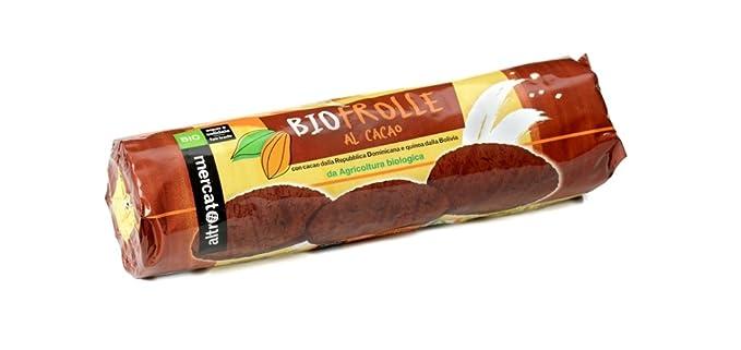 Altromercato Galletas Frolle con Quinoa y Chocolate Bio - 260 gr