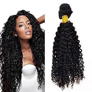 Feelontop Kinky Curly Brazilian Hair Weave Bundles 10pcs/lot Hair 8″~30″inches (30inch)
