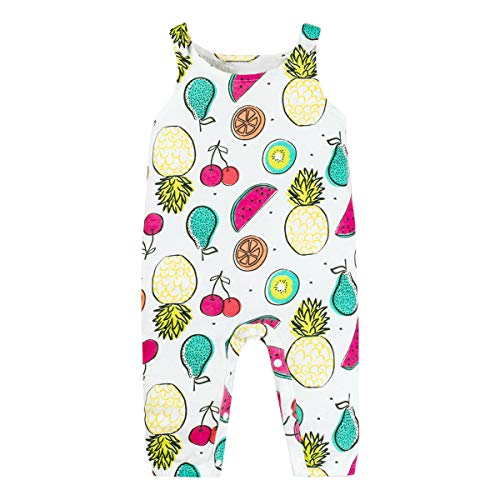 LAMAZE Organic Baby Girl, Boy, Unisex Rompers, One Piece Coverall, Fruit, 24M