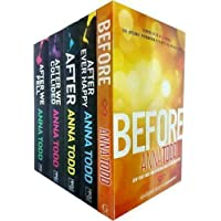 Anna Todd's The After Series 5 Books Set (After Ever Happy, After, After We Collided, After We Fell, Before)