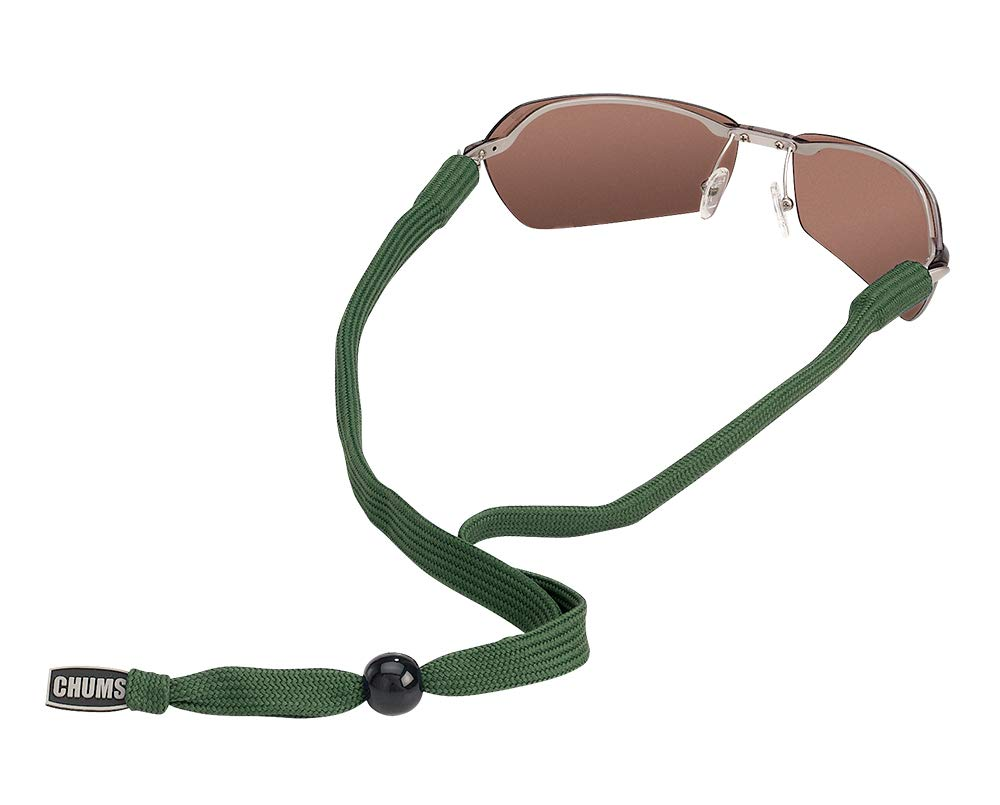 Chums Classic Eyewear Retainer, Olive by Chums