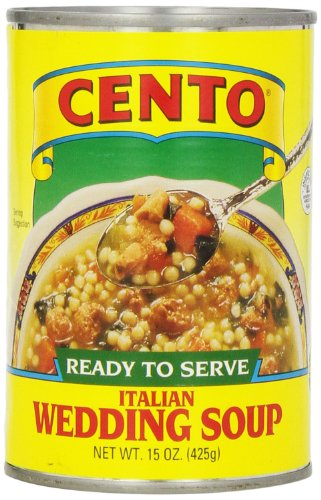 Cento Italian Wedding Soup, 15 Ounce (Pack of 12) (Cento Italian Tomatoes)