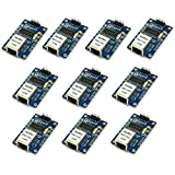 10pcs ENC28J60 Ethernet LAN Network Module for Arduino Projects Ethernet Connection Addition from Optimus Electric