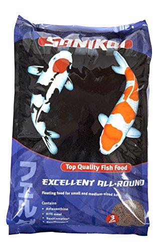 Comida flotante Sanikoi para peces de estanque, 5500 g