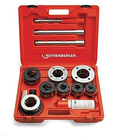 Rothenberger 70614 Supercut Deluxe Threading Kit