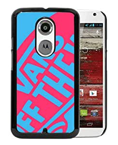 Fashionable And Unique Designed Case For Motorola Moto X 2nd Generation With vans 2 Black Phone Case