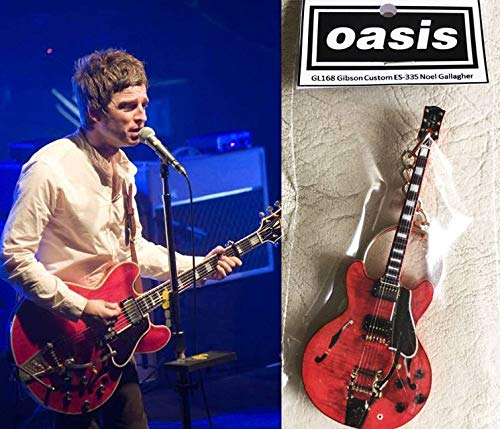 Keychain Guitar Gibson Custom Es-335 Noel Gallagher, used for sale  Delivered anywhere in Canada