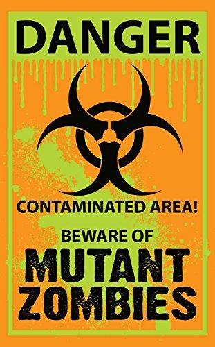 [Biohazard Warning Yard Sign] (Biohazard Costumes)
