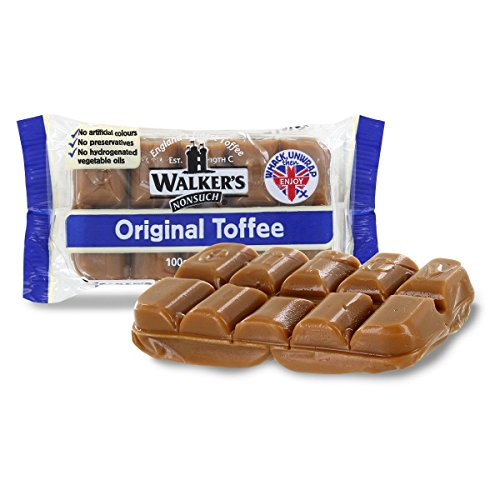 Walkers Nonsuch English Toffee - Original - 100g (4 Count)