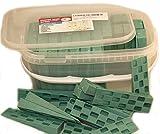 Plastic Wedge - for Using as Door Wedges, Window Wedges, Flooring Spacers - Universal Plastic Shims - 4.5''х1.2''х0.7'' - Green - 85 per Pack