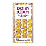 D&D Date & Himalayan Pink Salt 39% Milk Chocolate 100g