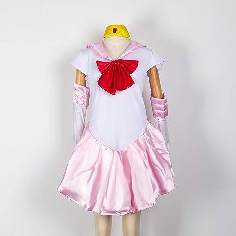Baipin Disfraz De Sailor Moon Anime Cosplay, Rosa Vestido y ...